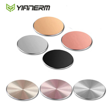 Yianerm 32*32mm Metal Plate Magnetic Car Phone Holder Accessories Use For Magnet Phone Stand(China)