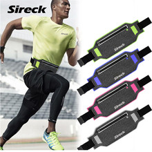 "Sireck Invisible Running Waist Bag Waterproof Women Men 2017 Gym Sport Bag Jogging Belt Pack Fitness 6.5"" Phone Case Accessories"