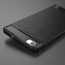 Phone Cover Case For Huawei ALE-L21 P8 Lite ale l21 Case P8 Mini P8lite ALE-L04 Cases Covers Carbon Fibre Brushed TPU Silicone