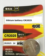 100% original Japan Brand new Wholesale 5pcs/lot CR2025 DL2025 3V lithium battery Button cell coin battery for Watch calculator