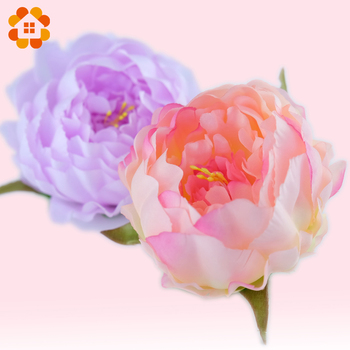 5pcs artificial decorative peony heads simulation DIY silk flower head for wedding home party decoration high quality flowers