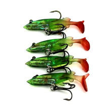 Alice mouth bass bait bag Lure Lead Fish necessary 8cm 11g lead head fish bait lures fishing tackle shop software(China)