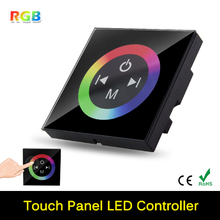DC12-24V Wireless LED Controller Touch Panel LED Dimmer RGB Remote Controller For SMD 5050 3528 3014 RGB Strip Light