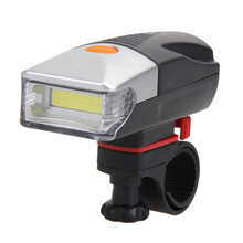 5W COB LED Bicycle Bike Cycling Front Rear Tail Light + 5LED Taillight Night Ultralight Bicycle Front Light with Tail Light Set