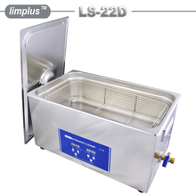 Industrial Ultrasonic Cleaning Machine for Weapons Heat Exchangers Degrease 500W Heater with Free Basket(China)