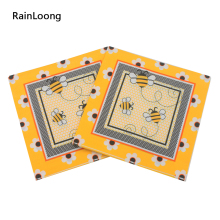 [RainLoong] Bee Paper Napkin Event & Party Insect Tissue Printed Napkin Supply Decoration Paper 33cm*33cm 20pcs/pack/lot(China)