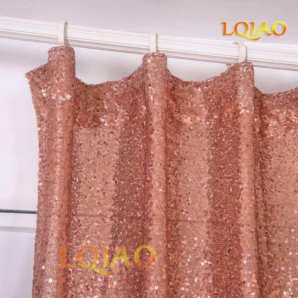 Rose Gold Curtain-2