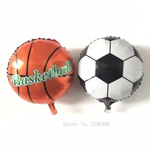 football basketball balloon foil balloons Party Decoration baloes de festa