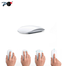 P 823 Ultra thin Silent USB Wireless Optical Mouse for Apple Mac PC Microsoft Computer & Ergonomic Magic Mice With Touch Scroll