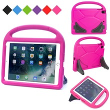 Buy Case Apple iPad 9.7 2017 2018, Kids Children Safe EVA Silicon case iPad Air 1 2 A1822 A1823 Protective hard cover cases for $8.04 in AliExpress store