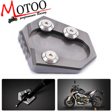 Motoo - Motorcycle CNC Side Stand Enlarge Kickstand for YAMAHA MT-09 XSR900 TRACER 900 SPORT TRACKER 14-16