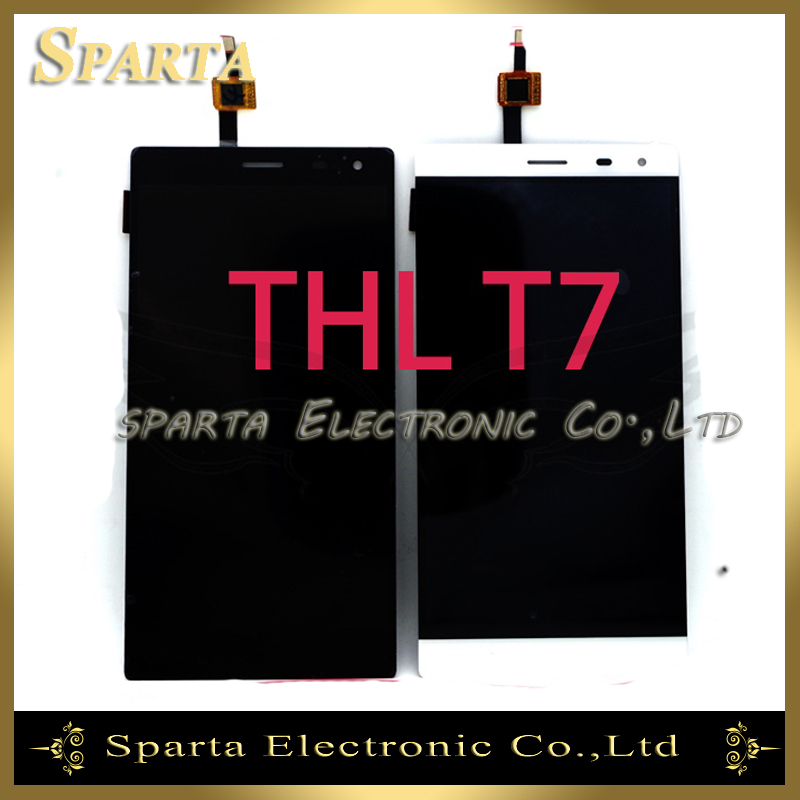 LCD Display For THL T7 LCD Display Touch Screen Digitizer Replacement Free Shipping<br>