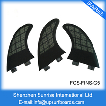 Surfboard FCS Fin Carbon Fiber Fins G5 New Design Surfing Fin Free shipping