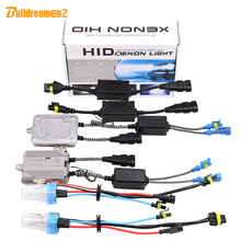 Buildreamen2 H1 55W HID Xenon Kit 3000K 4300K 6000K 8000K No Flicker Error AC Ballast Lamp Canbus Adapter Car Light Headlight(China)
