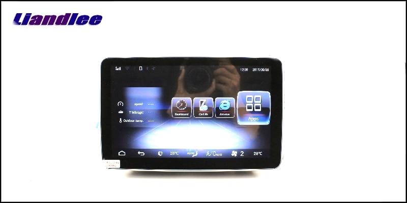 Liandlee Car Multimedia Player NAVI For Mercedes Benz MB ML M Class W164 2005~2011 Comand NTG Car Radio Stereo GPS Navigation 16