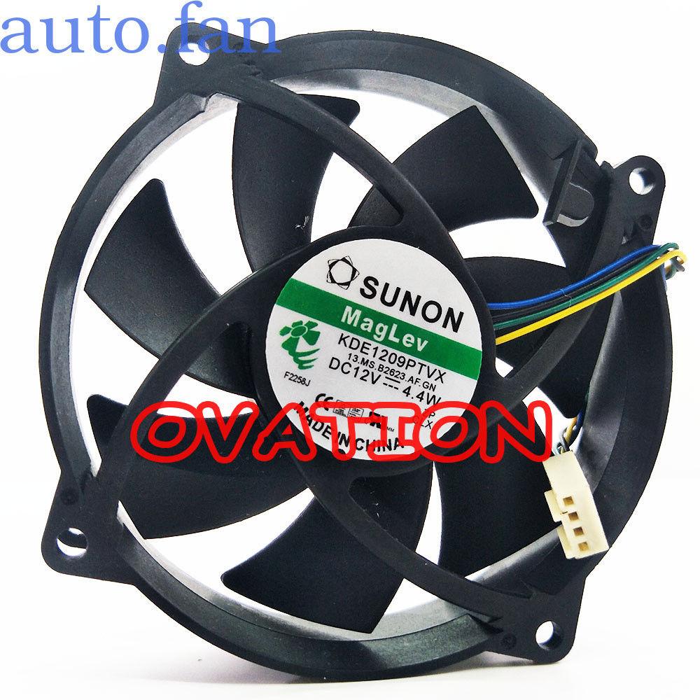 1PC fan for SUNON KDE1209PTVX 9cm 12V 4.4W