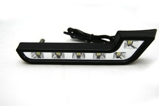 2 piece Super Bright White 6 LED DRL 6000K 7 Shape Car Daytime Running Driving Light Application for Mercedes Benz(China)