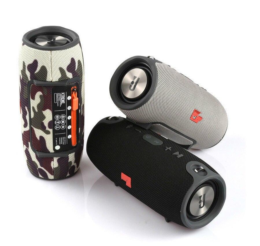 8 2018 Portable TF Card USB FM Radio Line in Wireless Fabric BT Speakers