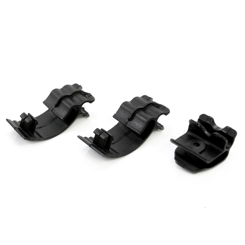 Motorcycle Black ABS Clips Left Side Battery Cover Screw For Harley Sportster XL 883 1200 48 72 2004-2018