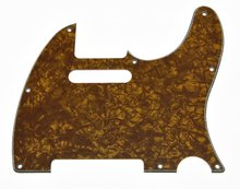 Gold Pearl Tele Guitar Pickguard Scratch Plate for Fender Telecaster