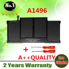 "Wholesale New  laptop battery FOR APPLE   MacBook Air 13"" A1466  2013 year MD760 MD761  A1496  free shipping"