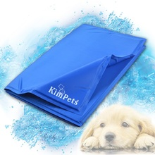 Cool!!Pet Cool Ice Pad Teddy Mattress Mat Small And Large Dogs Cat Cage Cushion Summer Keep Cool Bed Kimpets