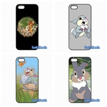 Bambi Thumper Hard Phone Case Cover For Apple iPod Touch 4 5 6 For iPhone 4 4S 5 5S 5C SE 6 6S Plus 4.7 5.5