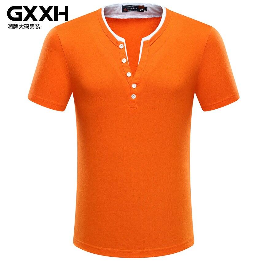 Orange t shirts in 6xl