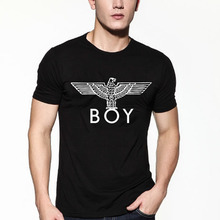 new fashion t shirt boy london tops tees eagle high quality short sleeve tee shirts male hiphop clothing letter print