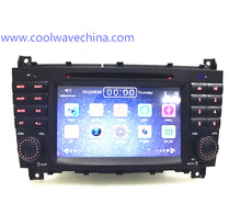 car radio DVD 2din for Mercedes c lass w203 (2004-2007) CLK W209 (2004-2005) GPS navigation can support WIFI 3G  blutooth
