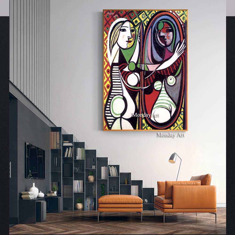 Woman-In-An-Armchair-Wall-Art-Canvas-Prints-Pablo-Picasso-Paintings-Reproductions-On-The-Wall-Cuadros (1)
