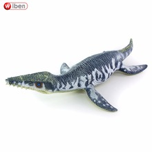 Sea Life Liopleurodon Dinosaur toy Soft PVC Action Figure Hand Painted Animal Model Collection Classic toys For Children Gift