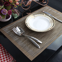 LIYIMENG 4 pieces/lot Placemat Coasters Heat-insulated Tableware PVC Decor Kitchen Dinning Bowl Dish Waterproof Pad Table Mat
