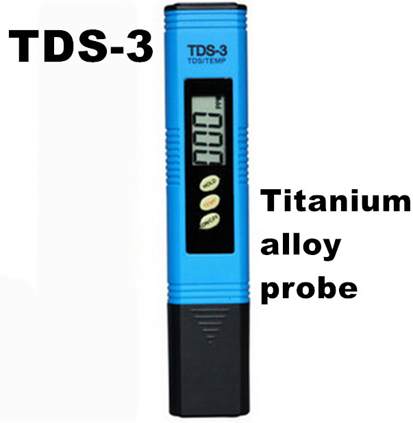 Portable Pen Portable Digital Water Meter Filter Measuring Water Quality Purity Tester TDS Meter  Titanium alloy probe 9% off<br><br>Aliexpress
