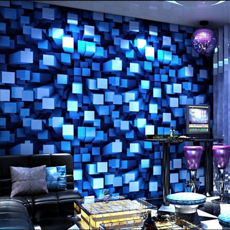 beibehang KTV Wallpaper 3d Stereo Fashion Bar Hotel Box Theme Room Gold Foil Silver Gold Ceiling Wallpaper papel de parede<br>