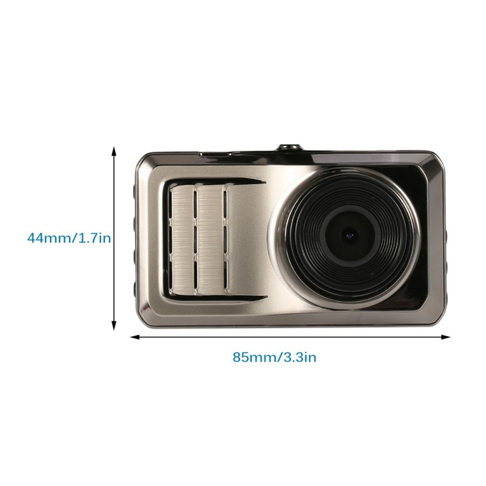 "Blackview Full HD Car DVR 3"" IPS Screen Display 125 120 Degree Video Camera HD Night Vision Gravity Induction Recorder"