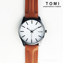 TOMI Fashion Wrist Watch Men Watches with Gift Boxes Top Brand Luxury Famous Quartz Watch Male Clock Hodinky Relogio Masculino(China)