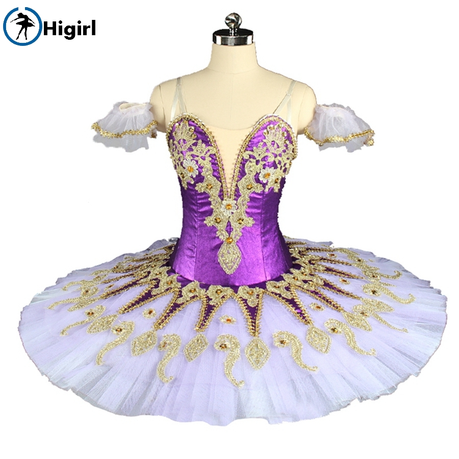 Purple tutu dress Ballet Costume Professional costume customization of Ballet Costume hot sales suits dressBT9134F