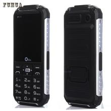Original Oeina XP6000 Dual Torch Rugged Mobile phone Metal Side Power Bank old man cell Phone Dual sim Russian keyboard