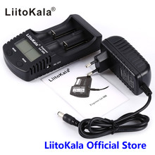 LiitoKala Lii-300 Digital 18650 26650 18350 10440 18500 Charger LCD Display Battery capacity test carregador bateria charger