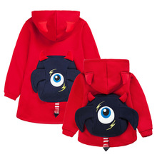 Family Outfits Clothing Mother and Daughter Son Zipper Coat Warm Autumn Winter Jackets Family Look Casual Clothing Red Dark Blue(China)