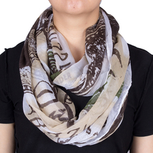2017 Unique Design for Novelty US Dollar $100 Printing Bill Scarfs for Women Loop Infinity scarves wrap snood