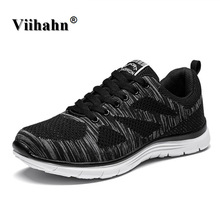 New Mens Sports Shoes Flyknit Racer Lightweight Running Shoes For Men Breathable Men's Athletic Sneakers Krasovki zapatillas