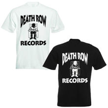 Death Row Records Snoop Dre Gangster rap T Shirt men hip hop printed short sleeve t shirts US plus size S-3XL(China)