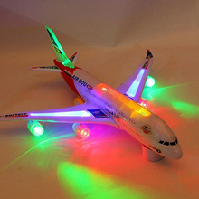 2016Children Kids Gift Toy Autopilot Flash Sound Aircraft Music Lighting Toys Airplane