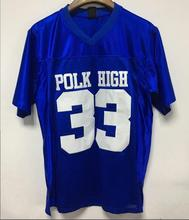 mounttop American Football Jersey Married with Children Al Bundy 33 Polk High American Football Jersey All Stitched