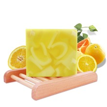 Organic Handmade Soap Bars Fragrance Orange Essential Oil Soap Moisturizing Natural Soap Bar Shower Face Multi-Function