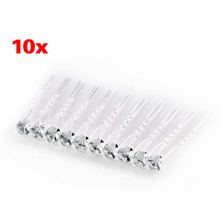 10 Wedding Prom Silver Crystal Hair Pins Sticks Clips(China)