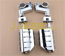 Chrome Foot Rest Foot Pegs For Suzuki BOULEVARD M90 S50 M50Z C90 M1500