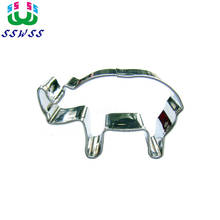 Animal Series Rhino Shape Baking Mold Hot Sales Can Decorate The Cake Can Cut Fruit Is A Good Tools,Direct Selling